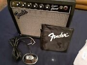 Fender Super Champ With New Fender Style Reproduction Footswitch