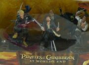 Disney Pirates Of The Caribbean At Worldand039s End Figurine Set Exclusive Pvc Figure