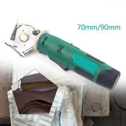 Cloth Cutter Fabric Cutter Machine Round Rotary Cordless Electric Scissors Andle33mm
