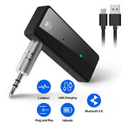 Bluetooth 5.0 Transmitter Receiver Wireless Adapter For Home Stereos Speakers Us