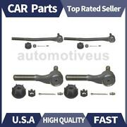 Inner Outer Steering Tie Rod End 4 X Moog Chassis Products For Ford 1969-1974