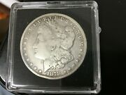 1878 Cc Morgan Silver Dollar Minted At The Carson City Mint Nice And Clear Det