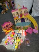 Sofia The First Magical Talking Castle Royal Family Friends Clover Classroom Lot