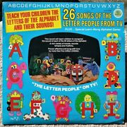 26 Songs Letter People Tv 70and039s Record Dkr-1aandb Alpha Time Summer Activity Book +