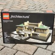 New Sealed Lego Architecture Imperial Hotel 21017 By Frank Lloyd Wright Retired