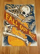 Fall Out Boy Poster - Save Rock And Roll Tour - Limited Edition - 2013 Reunion