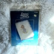 Paragon Needlecraft Precious Moments Kit 1092 Embroidery Bible Cover Lace Trim