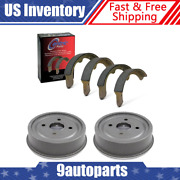 For 1960-1962 Ford Ranchero Front Brake Drums And Brake Shoes Kit