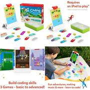 Osmo - Coding Starter Kit For Ipad - 3 Educational Learning Games - Ages 5-10+ -