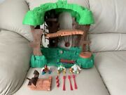 Vintage Fisher-price Great Adventures Robin Hood Forest Treehouse Figures 1998