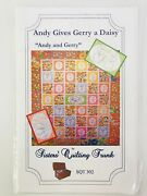 Andy And Gerry Daisy Quilt Pattern 55 X 74 Sisters Quilting Trunk Sqt302