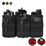 Tactical Molle Magazine Pouch Double-layer Hunting Accessories Mag Bag Universal