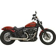 Bassani Stainless Steel Road Rage Iii 2-into-1 Exhaust System 18-20 Fxbb/fxlr