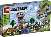 Lego The Crafting Box 3.0 Minecraft 21161 Building Set Gift Collectible Toy