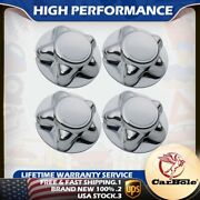 4pack Chrome Wheel Center Cap Hub For Ford F150 F-150 Truck Expedition 1997-2004