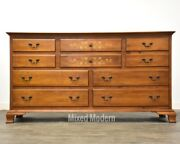 Hitchcock Solid Maple Stenciled Long Dresser