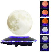 6 3d Levitating Moon Lamp Floating And Spinning In The Air Freely