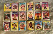 Garbage Pail Kids 4th Series Complete 84-card Set With 6 Wrappers 1986