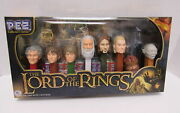 The Lord Of The Rings Collector's Series Pez Set Brand New Sealed