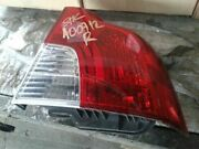 Passenger Tail Light Without Rear Fog Lamps Fits 08-11 Volvo 40 Series 2004481