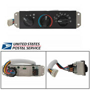 A/c And Heater Control With Blower Motor Switch For Jeep Wrangler Tj 1999-2004 New
