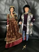Vintage Barbie And Ken As Romeo And Juliet Collector Dolls. Mattel 1998