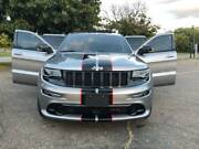 2 Color 8 Twin Rally Stripes Graphics Decals Fit All Yr Jeep Grand Cherokee