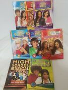 Lot Of 8 Chapter Books Age 8-12 Disney High School Musical Books - Great