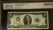1976 2 Dollar Frbn Bank Kansas City Star Legacy 55ppq Choice About New 3576