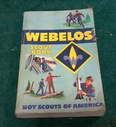 Vintage Guide 1983 Webelos Scout Book Boy Scouts Of America Bsa Illustrated