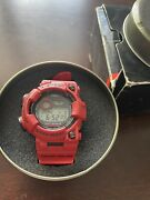 Casio G-shock Frogman Gwf-1000rd-4jf Burning Red Limited Edition Extremely Rare