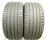 Two Used 325/35zr23 3253523 Michelin Pilot Sport 4s Mo1 Mercedes 8-8.5/32 M492