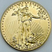 2020 1oz 50 Gold Eagle   Gem Brilliant Uncirculated   Flawless And Beautiful
