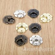 5pcs 30mm Quincunx Drawer Desk Handle Vintage Door Chests Box Pull Ring Knobs