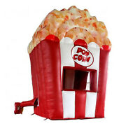 Inflatable Concession Stand Popcorn Kettle Corn Food Truck Drink Tent Booth New