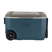 62-quart Xtreme 5-day Hard Cooler With Wheels Slate Coleman