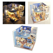Handcraft Doll House Wooden Furniture Full Set Romantic Puzzle Cottage House