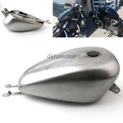 Unpainted 3.3 Gal Fuel Gas Tank Fit For Harley-davidson Sportster 2004-up Custom