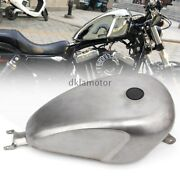 Unpainted Motorcycle 3.3 Gal Efi Xl Tank For Harley-davidson Sportster 2004-up