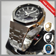 Metal Stainless Steel Case For Ga2100 Casio G Shock - 3rd Generation Watch Band