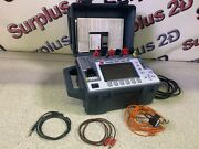 Multi-amp Biddle Megger Avo Pmm1 Power Multimeter With Cables And Software