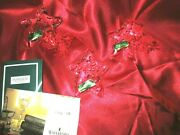 Waterford Crystal Marquis Star Wishes Set Of 3 Ornaments W/tags