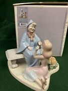 Lladro Cinderella And The Fairy Godmother 7553 With Box - Retired - Signed