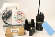 Vertex Vx-p929 Uhf 380-450mhz And Vhf Rx Only Analog And P25 Loaded