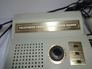 1975 Vintage Electronic Television Tennis By Executive Games System Model 35