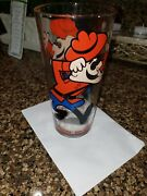 Vintage Dudley Do-right Pepsi Collector Series Glass Pat Ward 1973