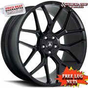 Asanti Black Label Abl-27 Dynasty Gloss Black 22x10.5 Wheels Rims Set Of 4