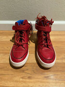 Ldrs 1354 X Adidas Forum Mid Moccasin Red Leaders G48896 2011 Size 12 Ds