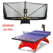 Table Tennis Robot Automatic Ping-pong Spin Ball Adjustable Speed Practice Train