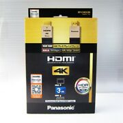 Rp-chkx30 Official Panasonic Hdmi Cable 4k Premium High-grade 3.0m